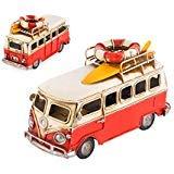 Ace Select Toy Camper Van 6.3 Retro Metal Classic Vw T1 Beach Bus