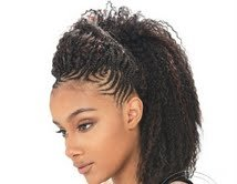 Model Model Glance Brazilian Curl Braid. 20\\