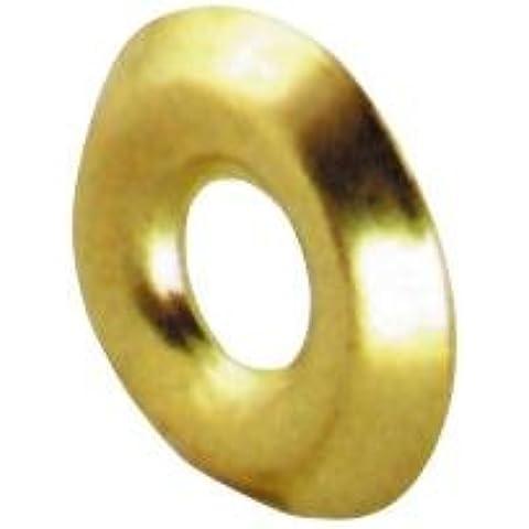 Cuello redondo Tornillos níquel placa de medición 14 mm conf. 1000 PC
