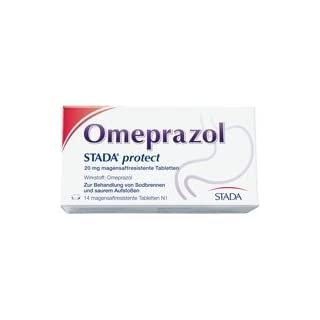 Omeprazol STADA protect 20 mg, 14 St. Tabletten