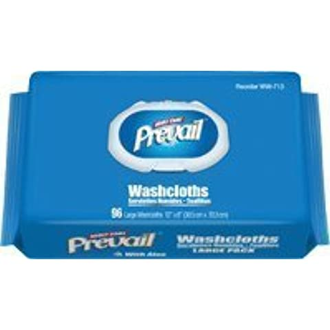 Prevail Jumbo Washcloth Refill Pack, 7.9