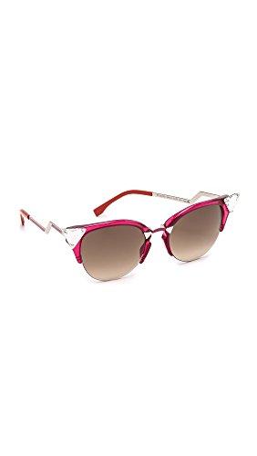 fendi-womens-0041-cherry-palladium-frame-brown-gradient-lens-plastic-sunglasses