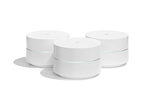Google Wifi - Router inalámbrico (3 Pack, Español/Italiano/Portugués), color blanco