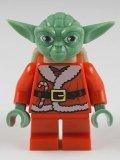 LEGO Star Wars Minifigure - Santa Advant Yoda with Backpack (7958)