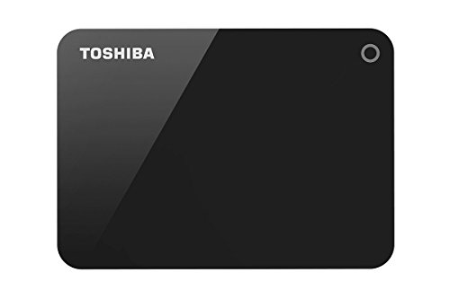 Toshiba HDTC910AK3AA Canvio Advance 1TB USB3.0 External Hard Drive (Black)