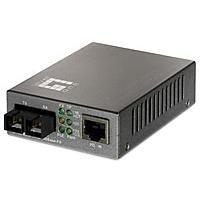 LevelOne Procon FVT-0104TXFC Medienkonverter extern Single-Mode (Media Konverter Single-mode Sc)