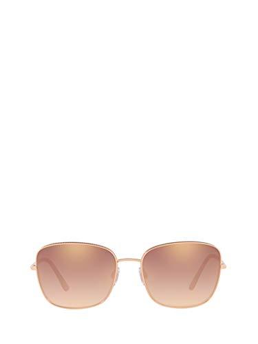 DOLCE E GABBANA Damen Dg222312986f Gold Metall Sonnenbrille