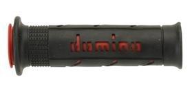 Domino impugnatura di gomma offroad destra d.22mm. l.126mm aperto nero a25041c4240b7–0.