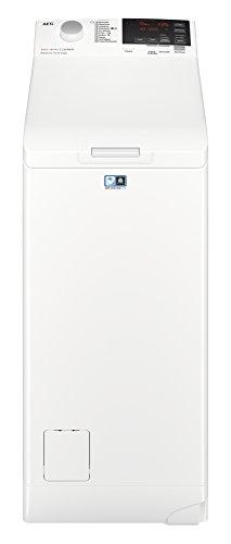 AEG L6TB61370 Waschmaschine / Energieklasse A+++ ( 175 kWh pro Jahr ) / 7 kg / Toplader Waschautomat / ProSense Mengenautomatik / Startzeitvorwahl / Weiß