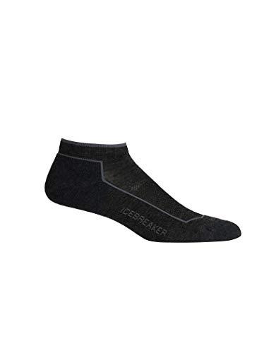 Sport Lite Socken (Icebreaker Damen Merino Lifestyle Cool Lite Low Cut, Damen, Lifestyle Cool Lite Low Cut Socks, Jet Heather/Timberwolf, Small)
