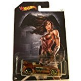 Batman Vs Superman Hot Wheels - Tantrum Wonder Woman - DC Comics Exclusive Collectible #7 by Hot Wheels Toy Cars