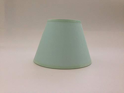 Hellgrün, klein Kerze Clip auf Lampenschirm Deckenleuchte Kronleuchter Wandleuchte Lampenschirm handgefertigt Baumwolle Stoff.