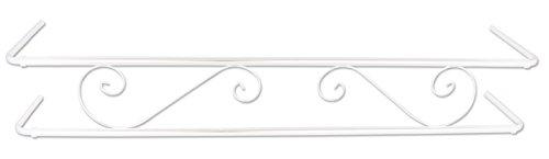 Balconcillo Extensible N1, de 60 cm a 100 cm Blanco