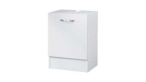 Kesper Waschbeckenunterschrank Como, Breite 40 cm weiß