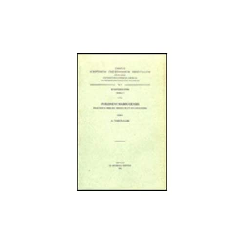 Philoxeni Mabbugensis Tractatus Tres De Trinitate Et Incarnatione. Syr. 9. = Syr. II, 27
