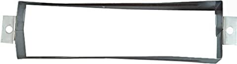 National Hardware V1911S 1-1/2 Mail Slot Sleeve in Stainless Steel by National
