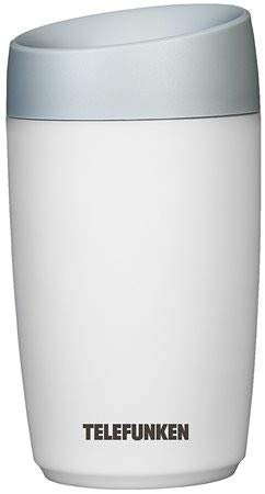 Telefunken Mini Steam 0.23L 2W Gris, Color blanco - Humidificador (2 W, 75 mm, 75 mm, 175 mm, 75 x 75 x 175 mm, Gris, Blanco)