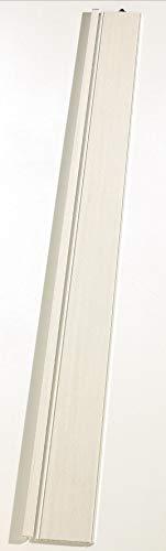 Zusatzlamelle Grosfillex Axia, 76302A72, Volllamelle, B 84 x H 205 cm, esche weiss