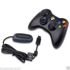 Xbox 360 Wireless Controller Gamepad Remote for PC Windows with Receiver By Ae zone