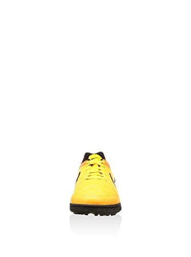 Nike  Jr Tiempo Genio Leather Tf, Chaussures de foot pour homme orange EU Orange