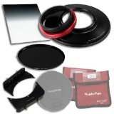 WonderPana 66 FreeArc Essentials ND 0.9SE Kit - Rotating 145mm Filter System Holder, Lens Cap, Fotodiox Pro 6.6