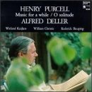 Henry Purcell : Music for a while / O solitude [Import anglais]