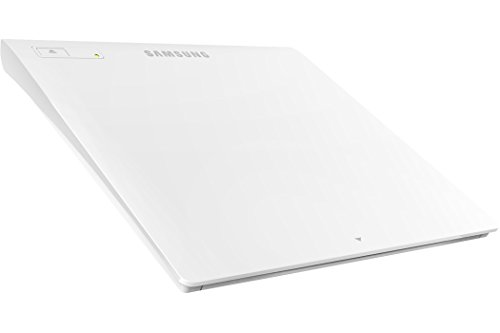 Samsung Tsst Ultra-slim Optical Drives Se-208gb/rswd White, M-disc Support, Mac Os X Compatible