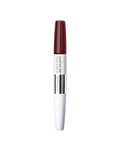 Maybelline Superstay 24H Lippenstift Nr. 760 Pink Spice, farbintensiver, flüssiger Lippenstift mit...