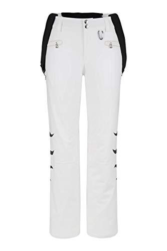 - Damen Skihose Snowboard Hose - 1176 4816-753 weiß, Größe:36 ()
