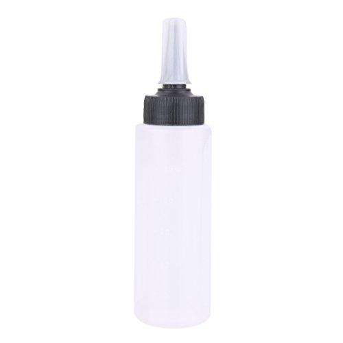 Homyl 150ml Plastique Bouteille de Mesure à Colorant pour Coloration / Teinture de Cheveux de Coiffure