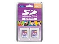 Integral insd2gt 2gb sd mlc class 4 memory card - memory cards (2 gb, sd, class 4, mlc)