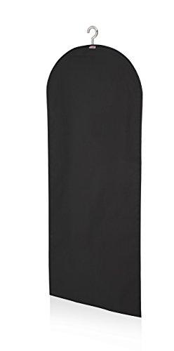 Leifheit 80019 Portatrajes Grande, Tela, Negro, 30 x 23 x 2 cm