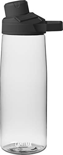 CamelBak Unisex– Erwachsene Trinkflasche Chute, Transparent, 750 ml
