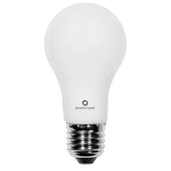STANDARD 9W E27 220V 360º LED de Beneito Faure - Blanco natural, E27,