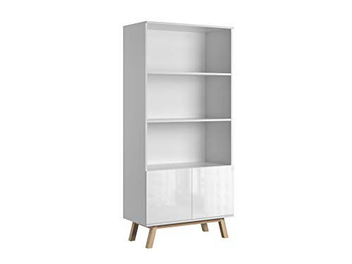 Bücherregal Für Wohnzimmer Bücherschrank Aktenregal