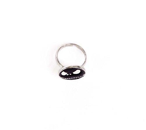 Nightmare Before Christmas ∣Ring∣Finger-Ring ∣Schmuck-Ring∣Jack Skellington Ø1,5 cm (85044-565-0000000)