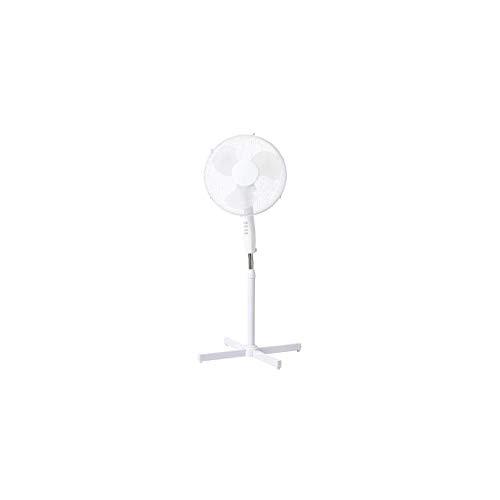 Stand-Ventilator, drehbar, rotierbar, Ø 40 cm, weiß