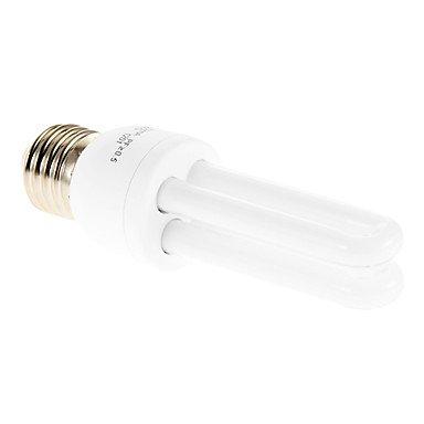 led bulbs, E27 t3 2u 9w 600-700lm pi65 6000-6500k kühle weiße licht cfl birnen (ac220v) long life ( Lichtfarbe : Kaltes Weiß )