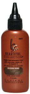 CLAIROL Professional Beautiful Collection Gentle Semi- Permanent Color B11W Honey Brown Level 4-Base Gold 3oz/88 ml by Clairol