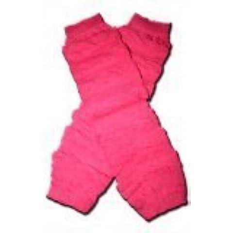 HOT PINK RUFFLES Baby Leggings/Leggies/Leg Warmers - GIRLS OR BOYS & ONE SIZE by BubuBibi by BubuBibi