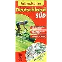 Fahrradkarten Deutschland Süd: 1:75.000