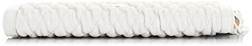 Jane Shilton Crystal - Quilted Zip, Borsetta da polso donna Bianco (bianco)