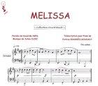 Partition : Mélissa - Piano et paroles
