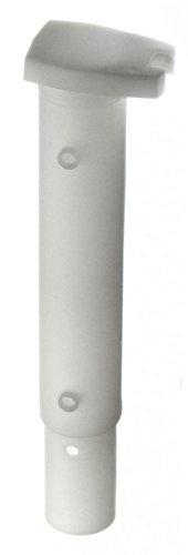 GAH-Alberts 653903 Bodenhülse für Wäschpfähle, weiß, für Pfosten: Ø44 mm