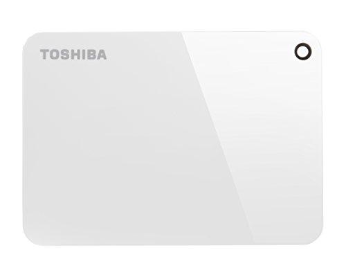 Toshiba HDTC920EW3AACanvio Advance Tragbare Externe Festplatte USB 3.0, 2TB Weiß