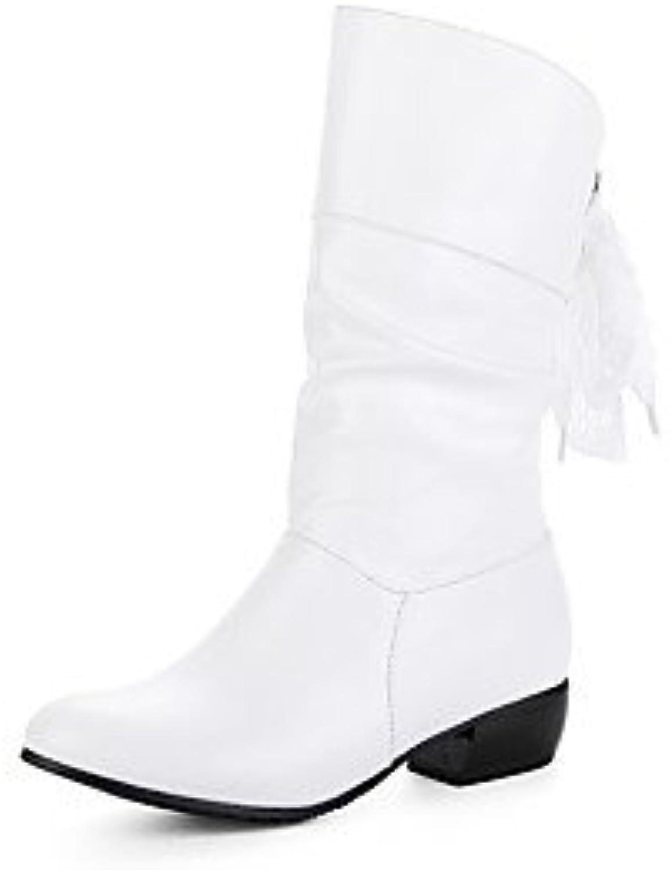Desy scarpa da donna in autunno inverno moda stivali stivali Chunky Heel rossoonda toe avvioies stivaletti fibbia...   promozione    Scolaro/Signora Scarpa