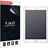 J&D Kompatibel für 3er Packung iPad 9.7 inch 2018 Displayschutzfolie, [Antireflektierend] [Nicht Ganze Deckung] Hochwertige Matte Folie Schutzschild Displayschutzfolie für Apple iPad 9.7 inch 2018