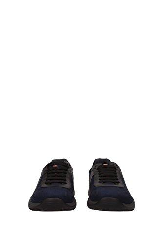 Baskets Prada Homme - (4e3075nero) Ue Bleu