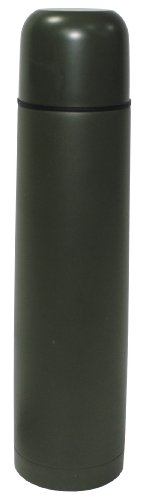 Fox Outdoor Bouteille isotherme Vakuum fermeture à vis Olive 1 liter