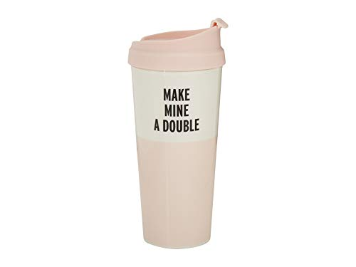 Kate Spade New York Women's Make Mine a Double Thermal Mug Kate Spade Spade
